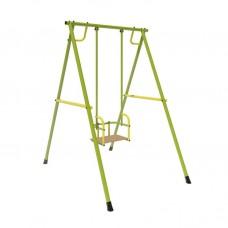 """Качели """"Лидер-02"""" (металл. на подшипниках) зелёно/жёлтый"""