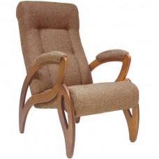 Кресло для отдыха Комфорт Модель 51 орех/ Malta 17