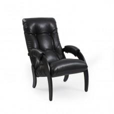 Кресло для отдыха Комфорт Модель 61 венге/ Vegas Lite Black