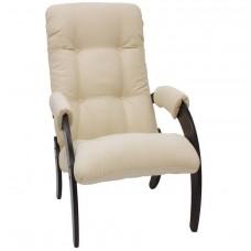 Кресло для отдыха Комфорт Модель 61 венге/ Verona Vanilla
