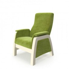 Кресло-глайдер BALANCE 1 дуб шампань/ Apple green