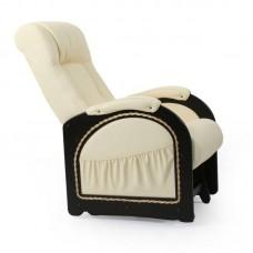 Кресло-качалка глайдер Комфорт Модель 48 венге с лозой/ Oregon 120