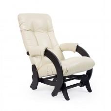 Кресло-качалка глайдер Комфорт Модель 68 венге/ Dundi 112