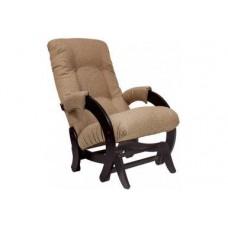 Кресло-качалка глайдер Комфорт Модель 68 венге/ Malta 03 А