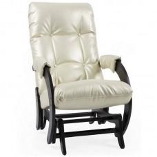 Кресло-качалка глайдер Комфорт Модель 68 венге/ Oregon perlamutr 106