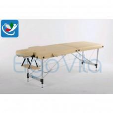 Массажный стол Бежевый ErgoVita CLASSIC ALU