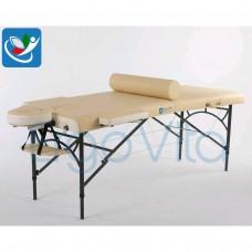 Массажный стол Бежевый (осн)+кремовый ErgoVita MASTER ALU COMFORT