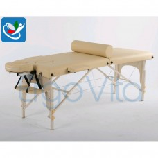 Массажный стол Бежевый+кремовые ноги ErgoVita MASTER