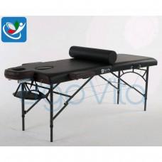 Массажный стол Черный(осн)+коричневый ErgoVita MASTER ALU