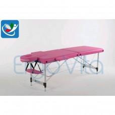 Массажный стол Розовый ErgoVita CLASSIC ALU