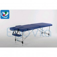 Массажный стол Синий ErgoVita CLASSIC ALU