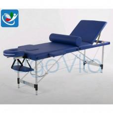 Массажный стол Синий ErgoVita CLASSIC ALU PLUS