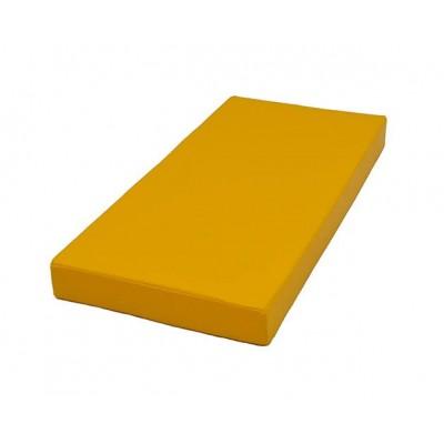 """Мат № 1 (100 х 50 х 10) """"КМС"""" жёлтый фото"""