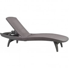 Шезлонг лежак KETER Sun Lounger Pacific, капучино
