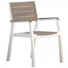 Стул Harmony armchair, белый-капучино