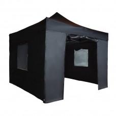 Тент быстросборный Helex 4332 S8.1, 3x3м черный