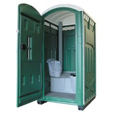 Туалетная кабина INTEGRA зеленая разобр.