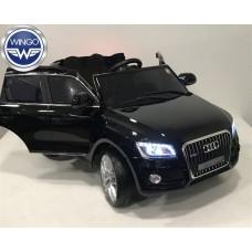Детский электромобиль WINGO AUDI Q5 NEW LUX (Лицензионная модель) Черный