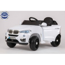 Детский электромобиль WINGO BMW X6 NEW LUX белый