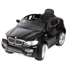 Детский электромобиль WINGO BMW X6 NEW LUX черный