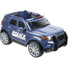 Детский электромобиль WINGO FORD EXPLORER POLICE LUX синий