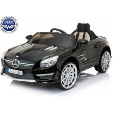 Детский электромобиль WINGO MERCEDES SL63 LUX (Лицензионная модель) Черный