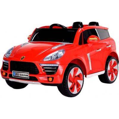 Детский электромобиль WINGO PORSCHE CAYENNE LUX Красный