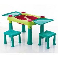"""Детский набор Keter """"Creative Play Table"""" (Криэйтив Тэйбл) с табуретками"""