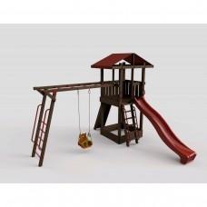 """Детский уличный комплекс с горкой 2,2 м """"Непоседа"""" Модель 3"""
