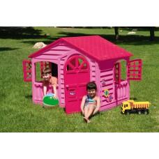 Домик игровой 360 розовый