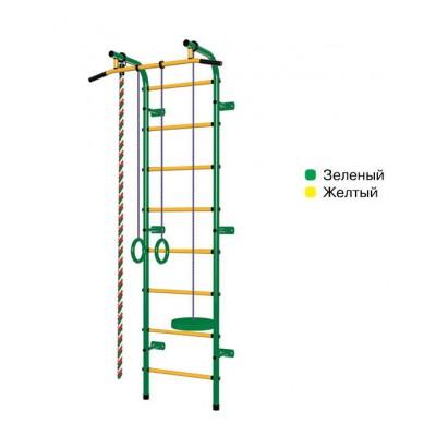 "Шведская стенка ""Пионер - С1РМ"" зелёно/жёлтый"