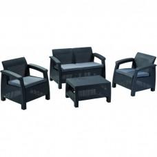 Комплект мебели KETER Corfu Set, графит