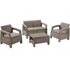 Комплект мебели KETER Corfu Set, капучино