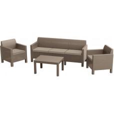Комплект мебели Orlando 3-sofa set, капучино