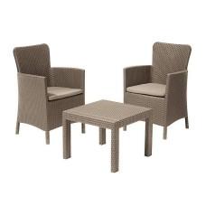 Комплект мебели Rosario Balcony Set, капучино
