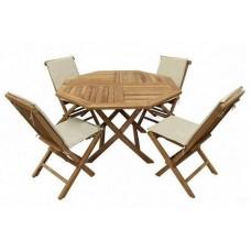 Комплект садовой мебели OCTAGONAL FULL COMFORT (4 стула, сидение+спинка) TGF-037/001FC