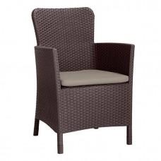 Кресло Miami DC, коричневый