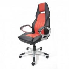 Офисное кресло Calviano Carrera (NF-6623) черно-красное