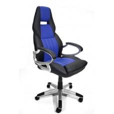 Офисное кресло Calviano Carrera (NF-6623) черно-синее