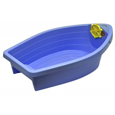 "Песочница-бассейн ""Лодочка"" 308 синий фото"