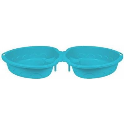 "Песочница-бассейн ""Сердечко х2"" 435 голубой фото"