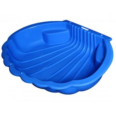 Песочница Ракушка 2075 синий фото