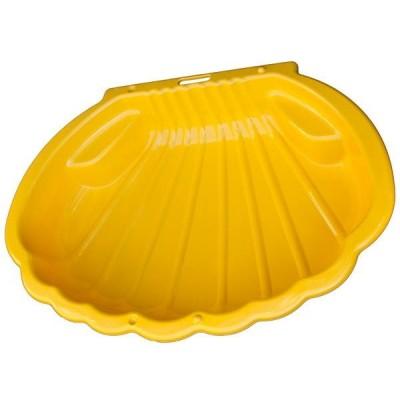 Песочница Ракушка 2075 жёлтый фото