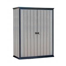 Шкаф уличный ДПК High Store (Хай Стор) высокий, серый