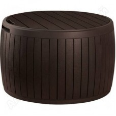 Стол - сундук CIRCA WOOD BOX, коричневый