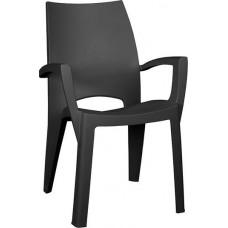 Стул пластиковый Spring Chair (Спринг), графит