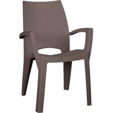 Стул пластиковый Spring Chair (Спринг), капучино