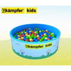 Сухой бассейн Kampfer Kids [голубой + 300 шаров]