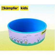 Сухой бассейн Kampfer Kids [розовый + 100 шаров]