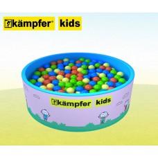 Сухой бассейн Kampfer Kids [розовый + 300 шаров]